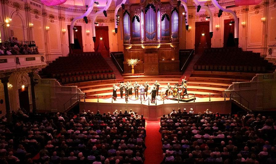 Concertgebouw Amsterdam, Main Hall