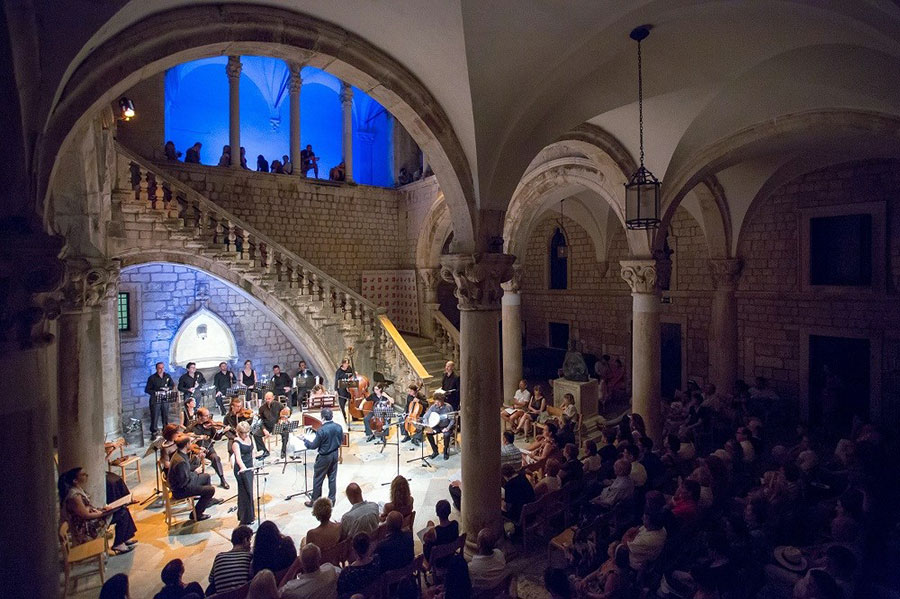 Dubrovnik Festival, Rector's Palace