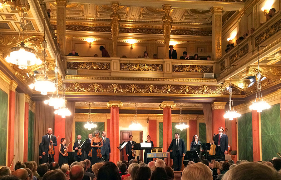 Musikverein, Vienna, Brahms Saal