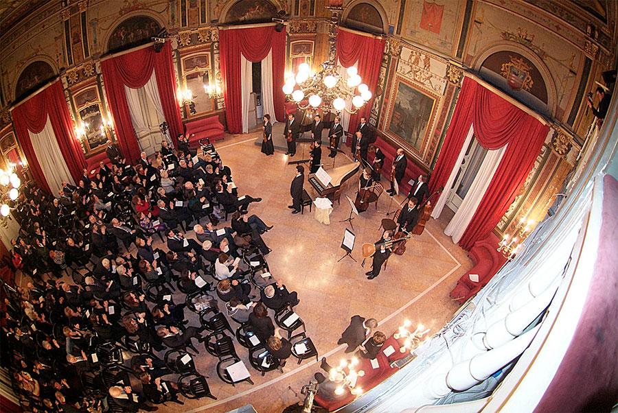 Teatro Verdi, Salerno, Sala Rossa